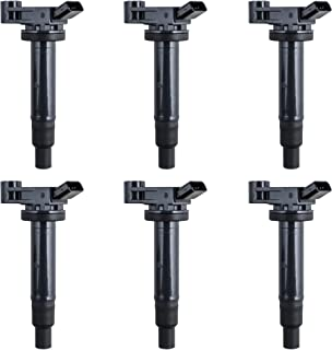 Set of 6 Ignition Coil for Avalon Camry ES300 RX300 Lexus Sienna fits UF-267 / UF267