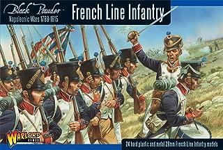 Black Powder Napoleonic French Line Infantry 1789-1815 1:56 Military Wargaming Plastic Model Kit