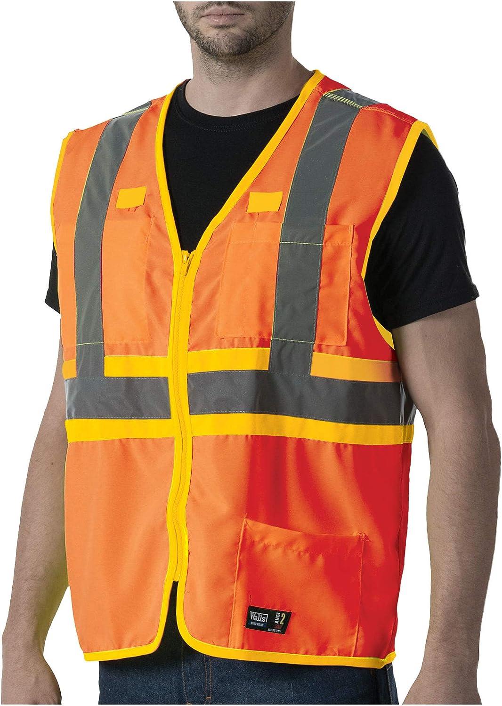 Walls Dedication Ansi Ii Safety Vest Sale price Large Orange Visibility High