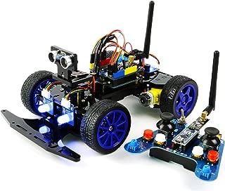 Adeept Smart Car Kit for Arduino, Remote Control Car Based on NRF24L01 2.4G Wireless, Robot Starter Kit, Arduino Robotics Model, Arduino Learning Kit with PDF Guidebook/Tutorial