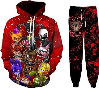 Kids 3d Print Five Night Fnaf Hoodie Sweatshirt Funny Hoodie With Pocket Jacket