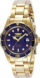 "Men's 8937 ""Pro Diver"" 18k Gold Ion-Plated Bracelet Watch"