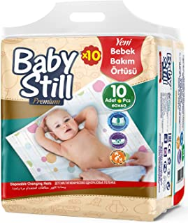 Baby Still Bebek Bakım Alt Değiştirme Örtüsü 10'lu Fırsat Paket - 100 Adet
