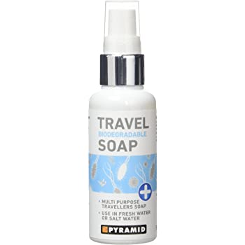 Pyramid Multi Purpose Travel Soap -  Biodegradable for Travellers Camping Backpackers - 60ml