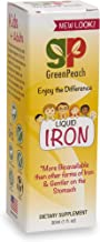 GreenPeach Liquid Iron Formula for Kids, Teens and Adults, Iron Supplement Non-GMO & Gluten Free, Gentle on The Stomach, w...