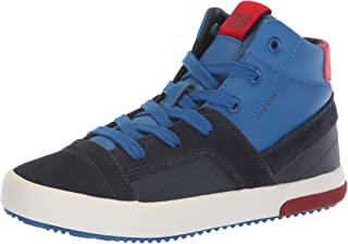 e71d0bb254a02 Geox Kids' Alonisso Boy 24 High Top Sneaker