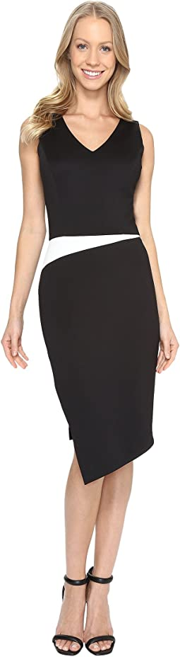 Sheath w/ Side Slit Dress