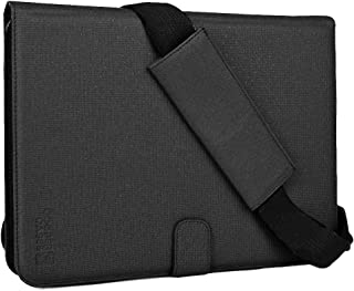Cooper Magic Carry II Shoulder Strap Case for Archos 97 HD, 97b, 101 Titanium   Carrying Case for Business School Restaurant Travel (Black)