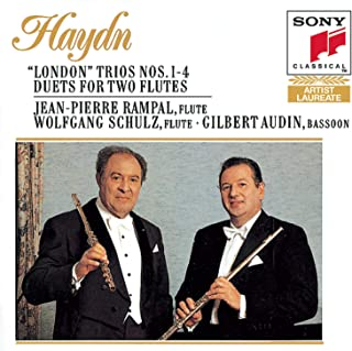 "Haydn: ""London"" Trios nos1-4, etc / Rampal, Schulz, Audin"