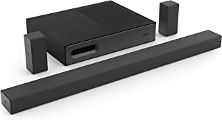 """VIZIO SB3651ns-H6 36"""" 5.1 Channel Home Theater Surround Sound Bar with Bluetooth– DTS Virtual:X, Slim Wireless Subwoofer, ..."""