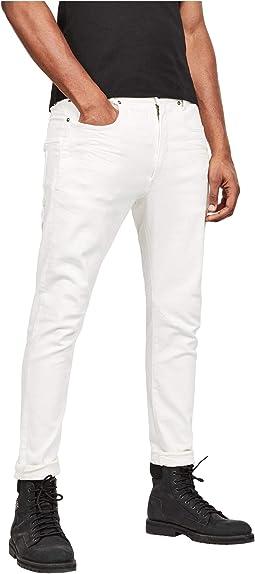 D-Staq 3-D Slim Jeans in White