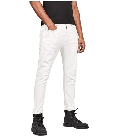 G-Star D-Staq 3-D Slim Jeans in White (White) Men