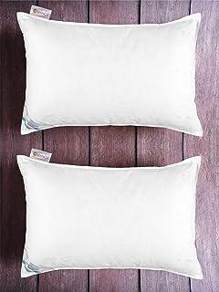 Bianca Bamboo Micro Gel Ultrasoft Luxury Pillow Set of 2- Cotton ( White )