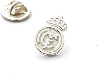 ART3 Insignia Pin Escudo Real Madrid en Plata de Ley