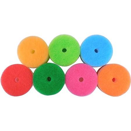 マーナ(MARNA) POCO(ポコ)キッチンスポンジ リフィル7色セット T260