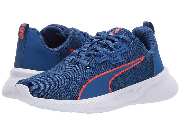 Puma PUMA youth kids T shirt TISHATSU runner knit JR sneakers shoes sports shoes low frequency cut running 191571