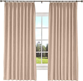 ChadMade Baby Pink Extra Long and Wide Curtains 100