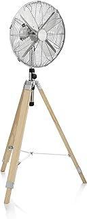 Tristar VE-5804 - Ventilador de pie, 40 cm, 50 W, Trípode de madera