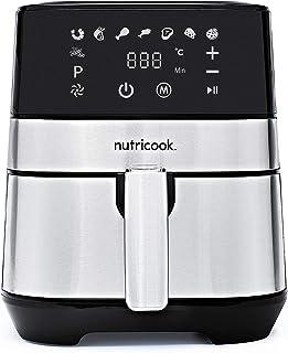 Nutricook Rapid Air Fryer by Nutribullet, 1700 Watts, Digital Control Panel Display, 8 Preset Programs with built-in Prehe...