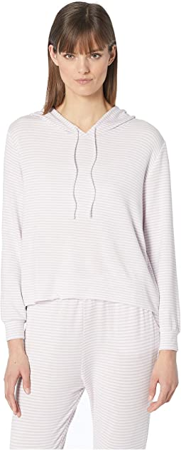 Sadie Stripes - The High-Low Hoodie
