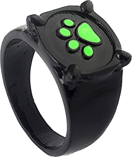 Simile Chat Noir Ladybug Anello in Metallo Verniciato Simil Chat Noir Ring Charing - 03