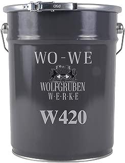 Holzfarbe Holzanstrich Holzbeschichtung Holzschutz - Schokoladengrau änhl. RAL 8017-5L