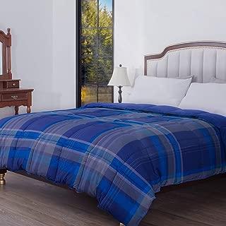 Best blue plaid comforter twin Reviews