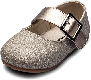 Maxu Little Girl's Adorable Buckle Ballerina Flat (Toddler/Little Kid)