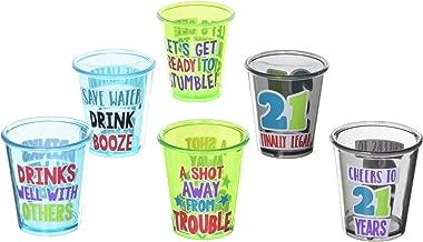 21st Happy Birthday Shot Glass