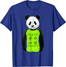 Math Rocks Panda Bear T-shirt