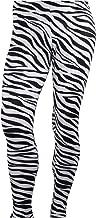 Largemouth Men's Heavy Metal Rocker Pants Zebra Black/White