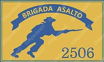 Brigada de Asalto 2506Cuba ordenador coche adhesivo 3x 5pulgadas