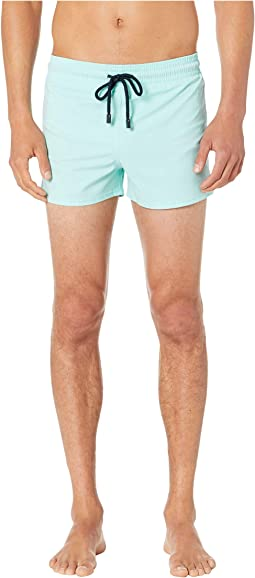 Man Unis Stretch Swim Trunks