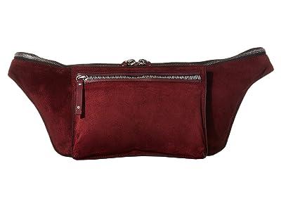 rag & bone Large Elliot Modular Fanny Pack (Merlot) Bags
