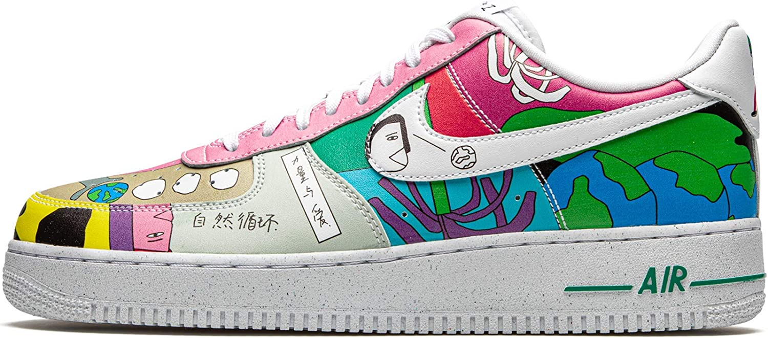 Amazon.com | Nike Air Force 1 Low Flyleather Ruohan Wang Mens ...
