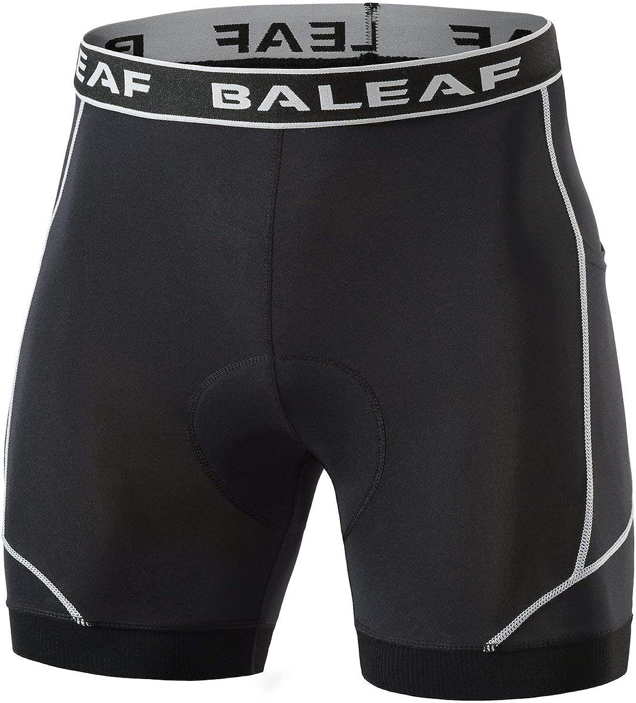 BALEAF Men's Bike Shorts Cycling 4D Bik Padded New mail order Las Vegas Mall Underwear Bicycle