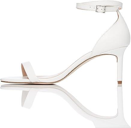 low priced 65506 e0e92 Suchergebnis auf Amazon.de für: weiße Sandalen mit Absatz