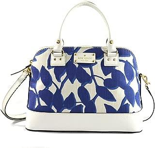 Kate Spade Wellesley Leaves Fabric Small Rachelle Crossbody Shoulder Handbag