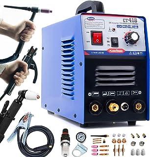 TIG Welder/Stick Welder/Plasma Cutter -Tosense CT418 3 in 1 Combo Multi-process Machine,120A TIG/MMA Welder, 30A Plasma Cu...