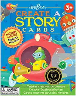 eeBoo Create and Tell Me A Story Cards, Robot's Mission