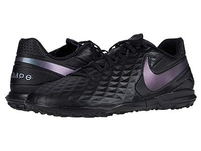 Nike Legend 8 Academy TF (Black/Black) Cleated Shoes