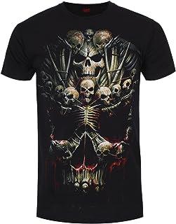 Spiral Death Bones Camiseta Negro