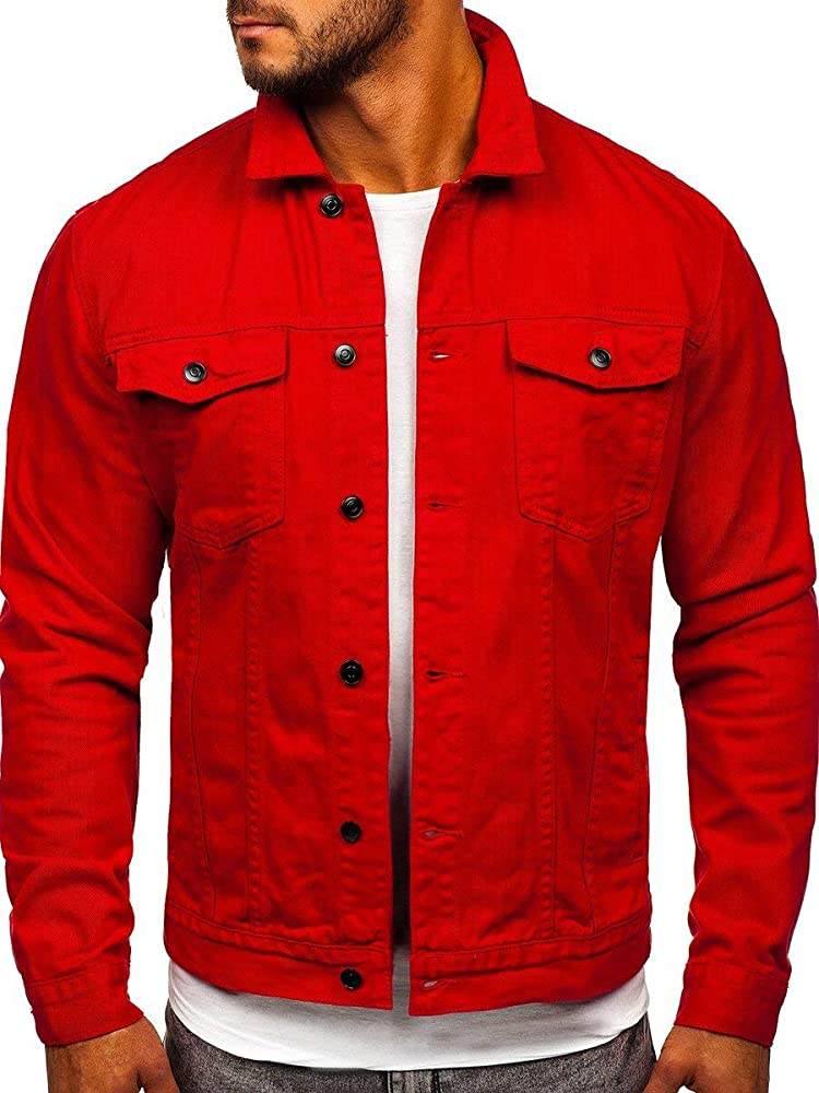 Bolf, giubbottodi jeans, chiuso a bottoni; due tasche sui lati,per uomo,75% cotone, 25% poliestere J.BOYZ 1153