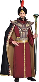 Jafar Halloween Costume for Men, Aladdin Live-Action, Standard, with Accessories