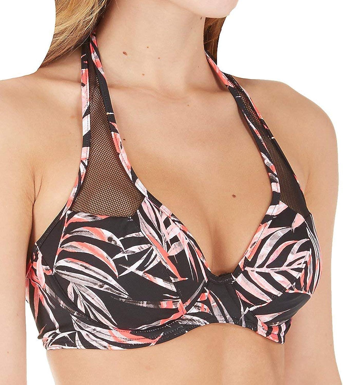 Freya Sunset Palm Halter Bikini Top