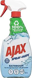Ajax Spray n' Wipe Bathroom Antibacterial Disinfectant Household Cleaner Trigger Surface Spray Fresh Burst Made in Austral...