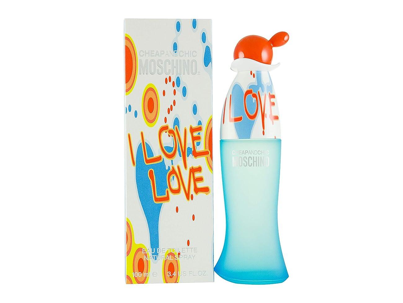 ビリーヤギドレス性差別I Love Love by Moschino Eau De Toilette Spray 3.4 oz / 100 ml (Women)