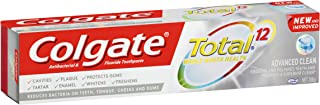 Colgate Total Advanced Clean Antibacterial Fluoride Toothpaste, 200g