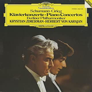 ピアノ協奏曲集 Piano concertos シューマン Schumann グリーグ Grieg DGG 2532 043 DE Original