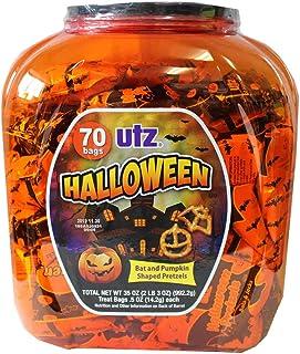 UTZ ハロウィーンスナック プレッツエル 70袋入り Halloween限定パッケージ 992.2g